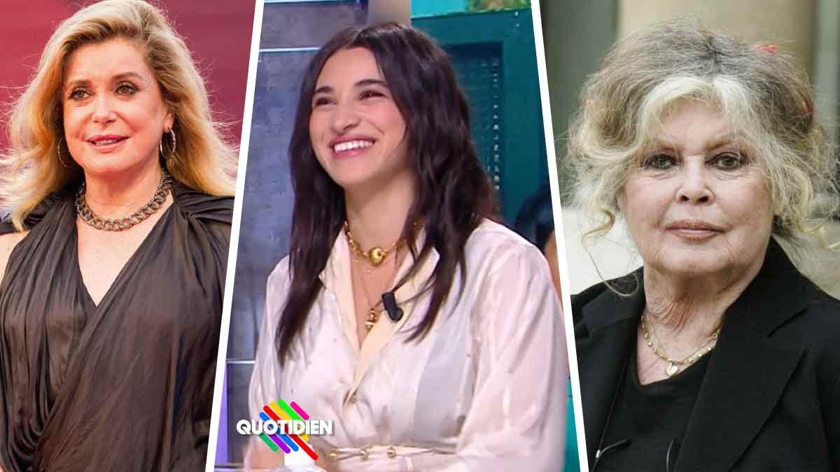 Lynchée Camélia Jordana nie les accusations sur Brigitte Bardot et Catherine Deneuve.