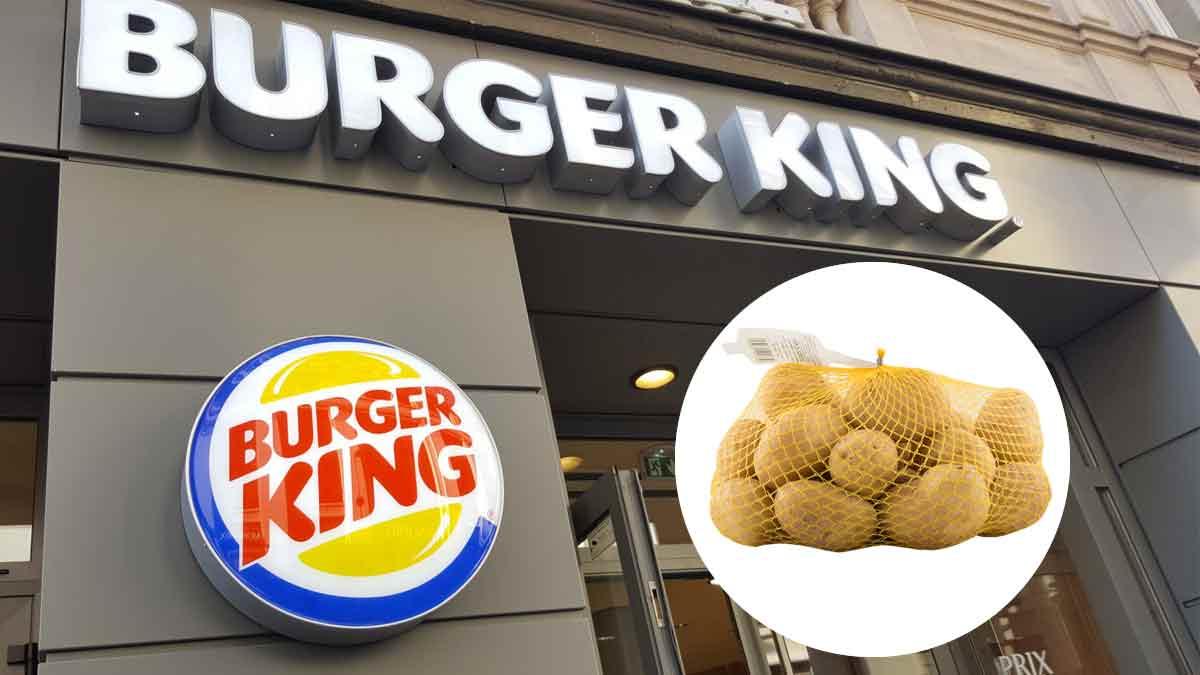 Alerte bon plan : Burger King offre un filet (1 kg) de pommes de terre pour tout achat en drive