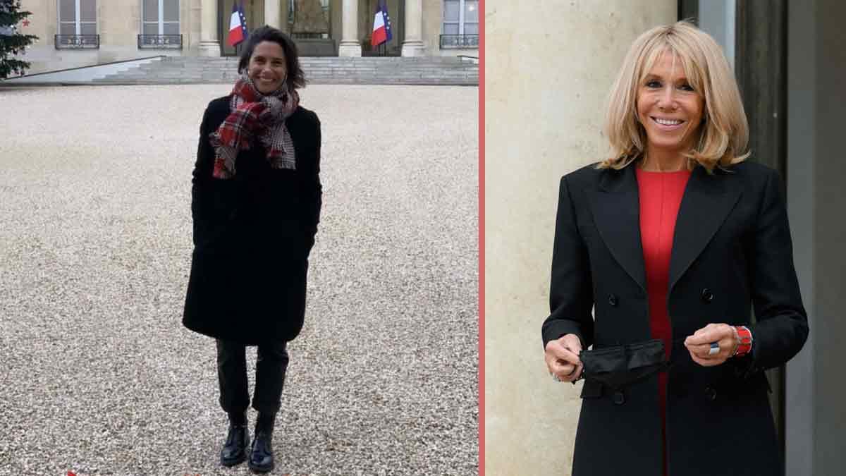 Alessandra Sublet revient sur la « visite insolite » que lui a fait Brigitte Macron au Palais de l'Elysée