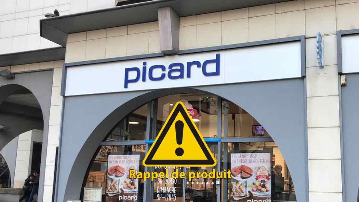Attention ! Picard rappelle de toute urgence ce produit contaminé dont tout monde adore