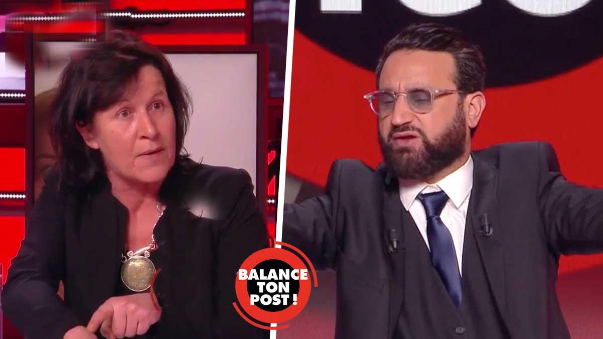 Balance ton post : privée de parole une invitée de Cyril Hanouna s'insurge et quitte l'émission