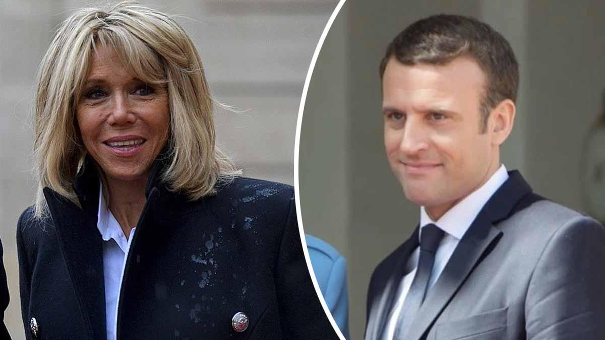 Brigitte Macron paniquée à mort suite à une apparition inattendue d'Emmanuel Macron à la télé