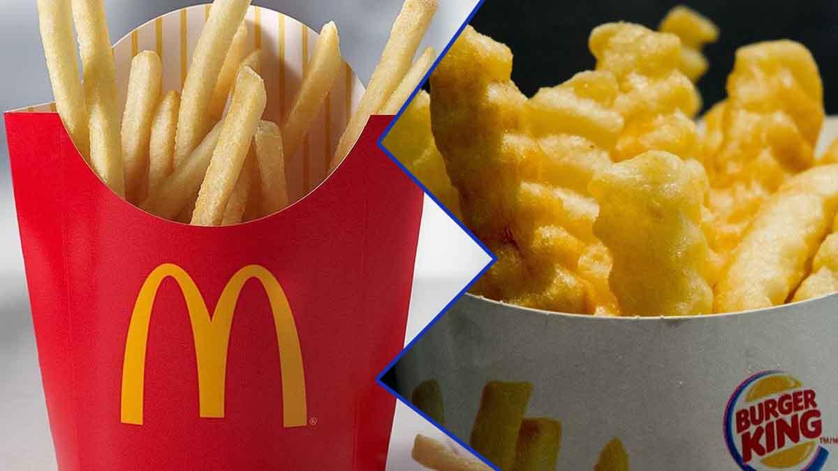 Burger King vs McDonald's: lequel de ces deux géants du fast-food proposent-ils les meilleures frites ?
