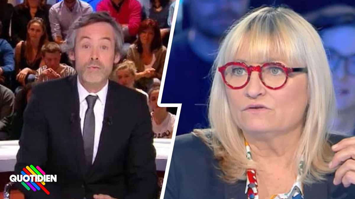 Christine Bravo s'attaque à Yann Barthès et le pointe du doigt de trucage dans Quotidien