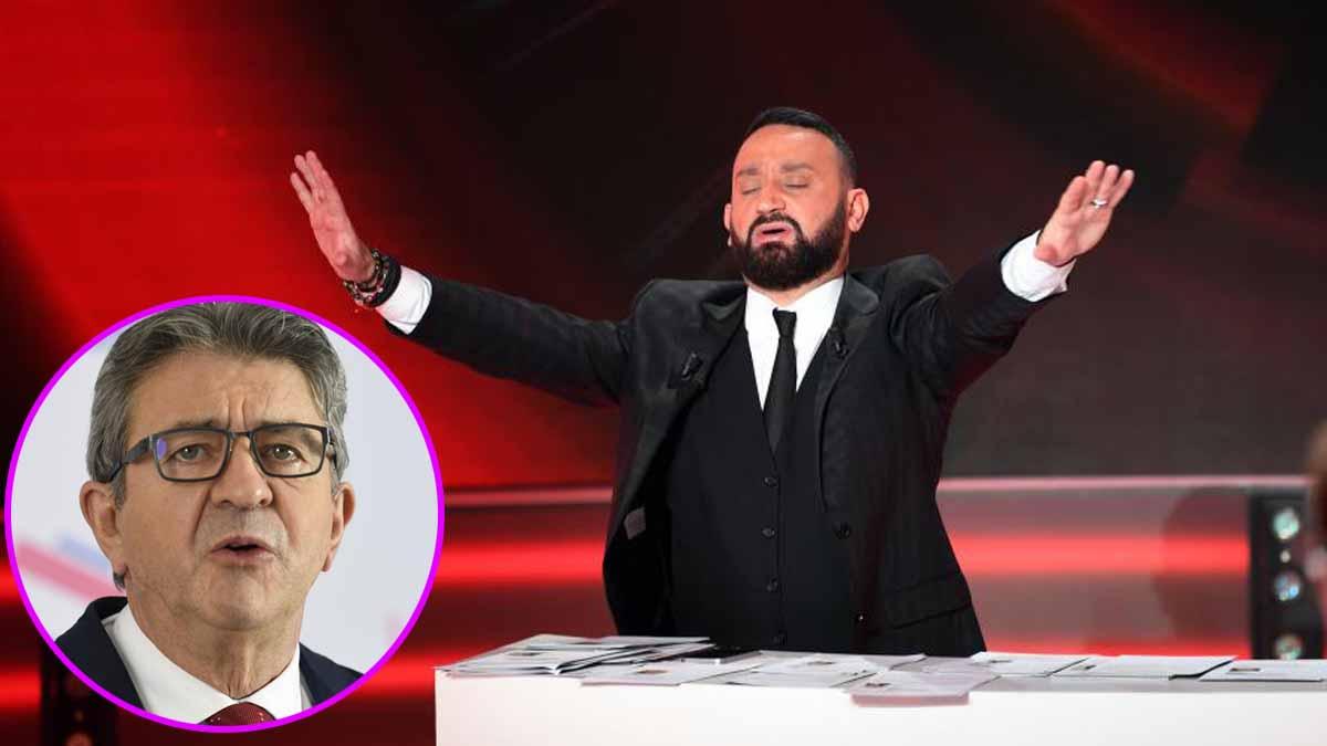 Cyril Hanouna s'incline face à l'imposition de Jean-Luc Mélenchon et se sépare de son chroniqueur