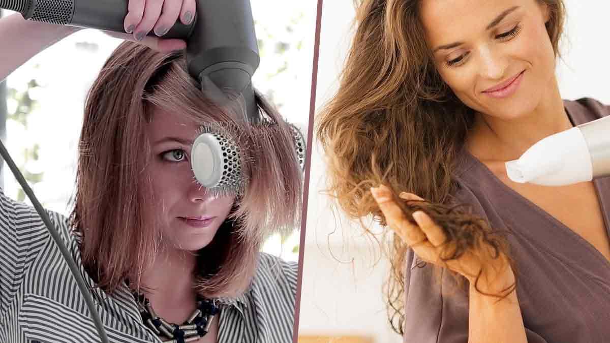 Danger des sèche-cheveux : cette séquence choc montre tout ! C'est horrible !
