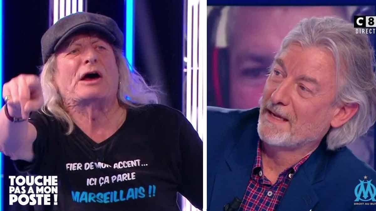 De retour dans TPMP René Malleville réagit à chaud et clashe Gilles Verdez.