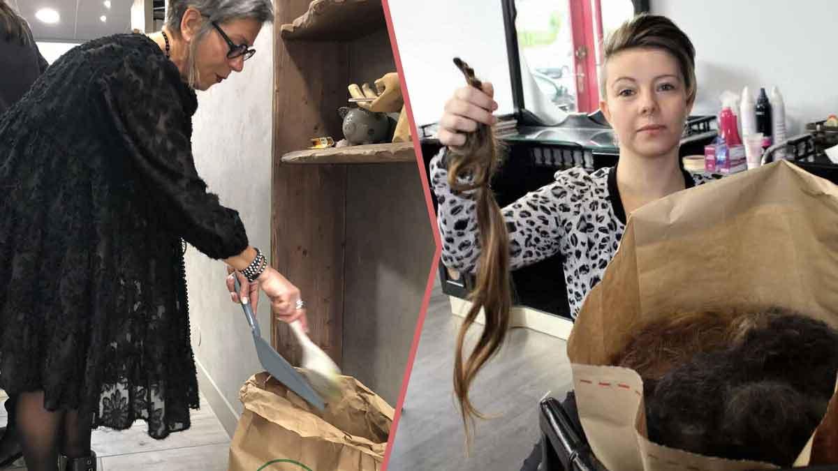 Découvrez l'étonnante raison pour laquelle il faut arrêter de jeter vos cheveux. ça change le monde