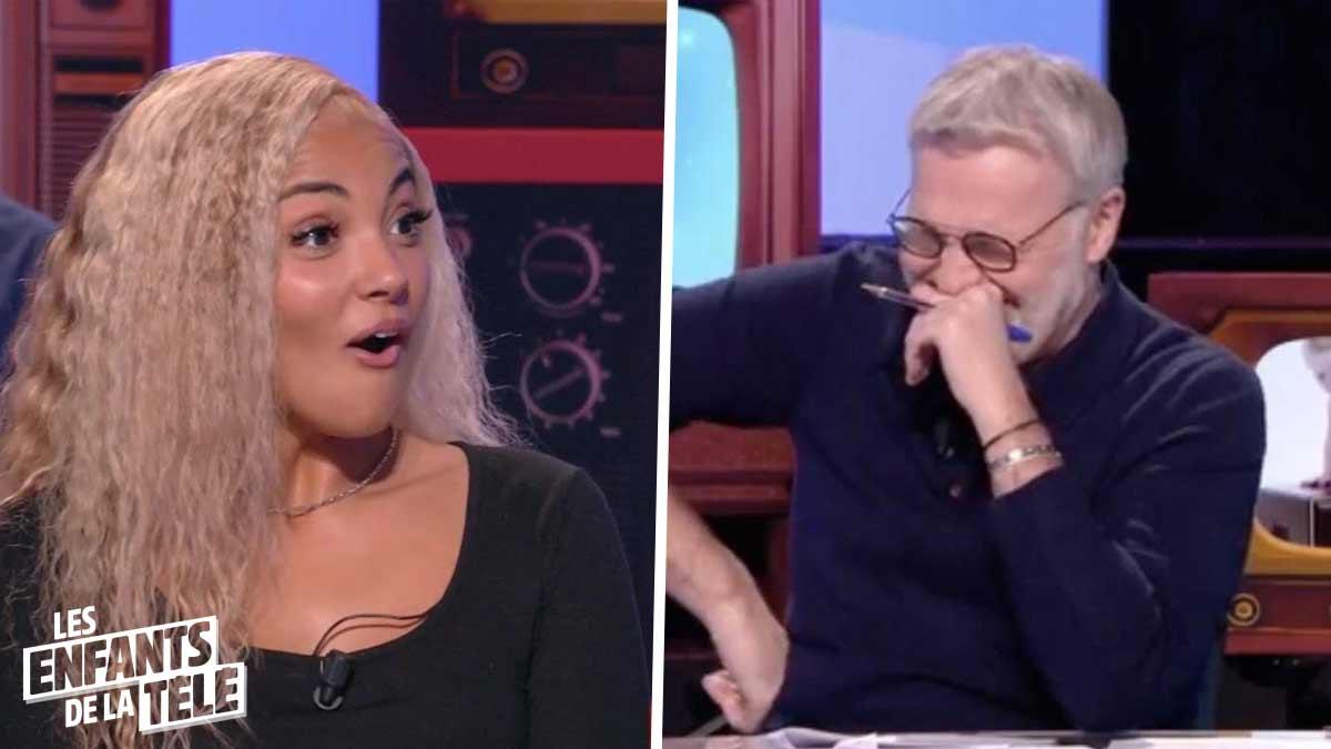 Les Enfants de la télé : Laurent Ruquier hilare après la grosse gaffe de Wejdene