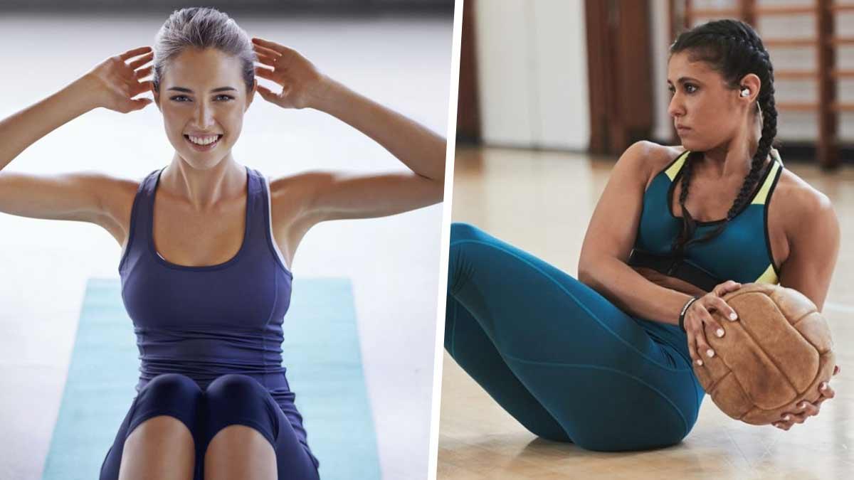 Musculation abdos : Voici trois séances hebdomadaires que vous propose une coach star