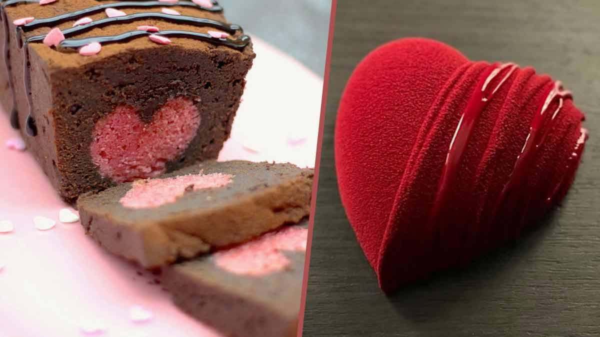 Passez un Saint-Valentin inoubliable avec le savoureux gâteau cœur signé Cyril Lignac !