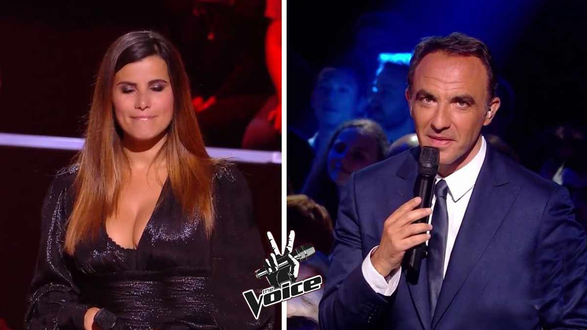 The Voice : évincée Karine Ferri en veut à Nikos Aliagas et boude comme pas possible !