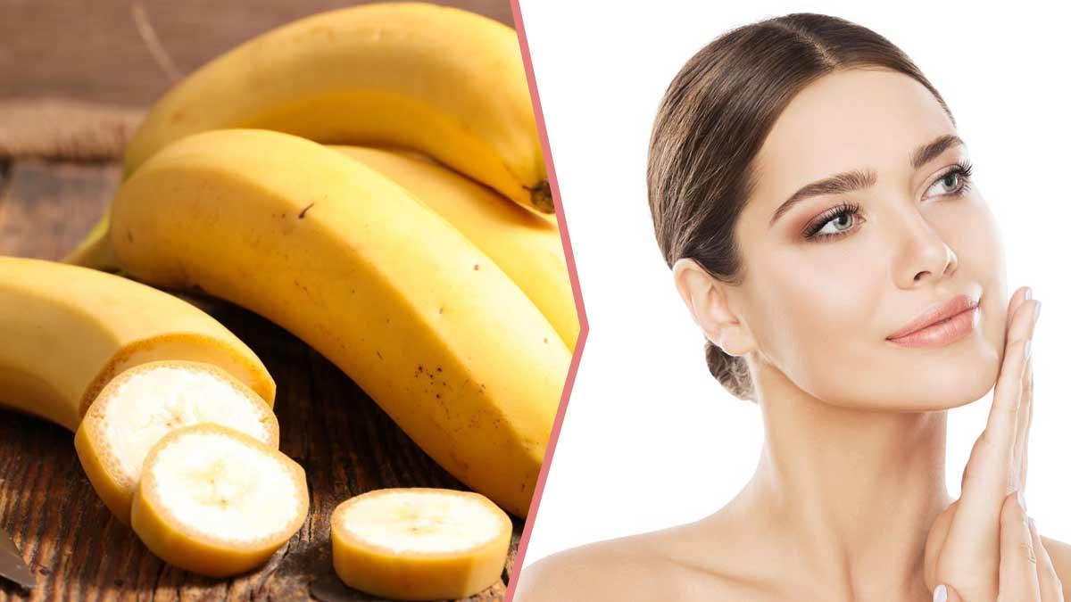 Banane : vous ne devinerez jamais ses vertus insoupçonnées sur votre peau et vos cheveux