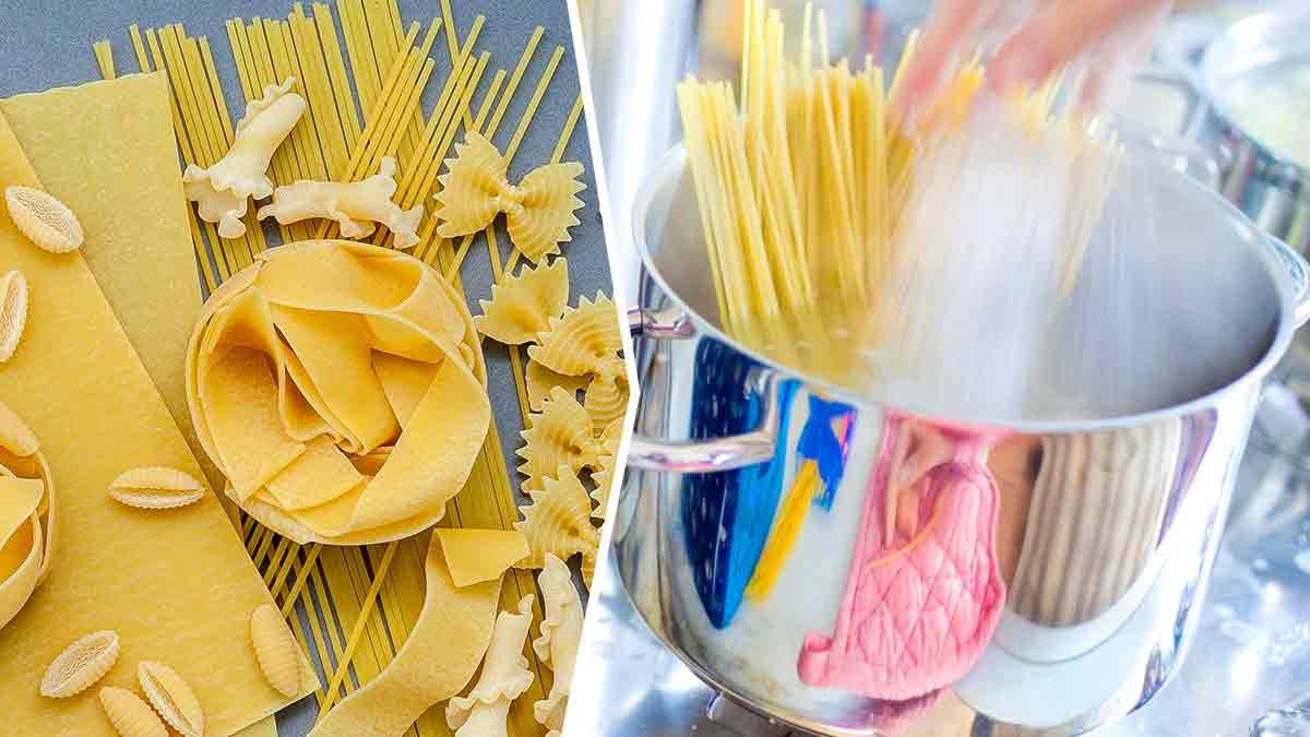Cuisson des pâtes : voici les pires erreurs à ne surtout pas faire !