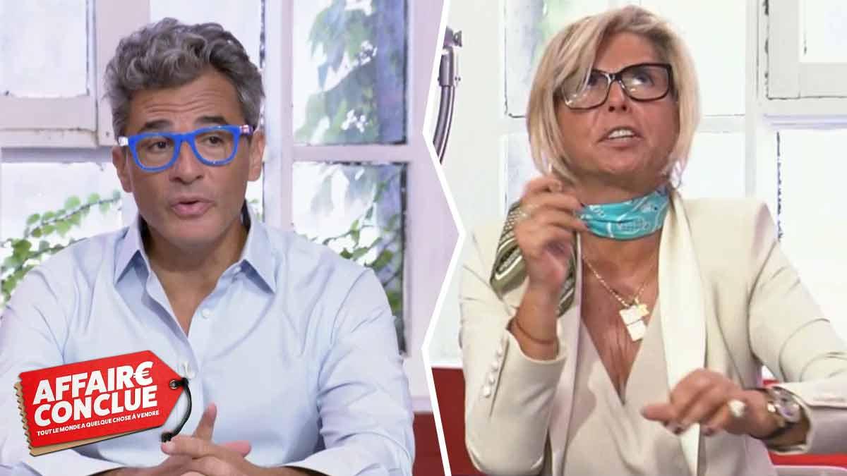 """""""Julien (Cohen) c'est le patron de tous les acheteurs"""" : Cette phrase qui ne ravit pas Caroline Margeridon !"""