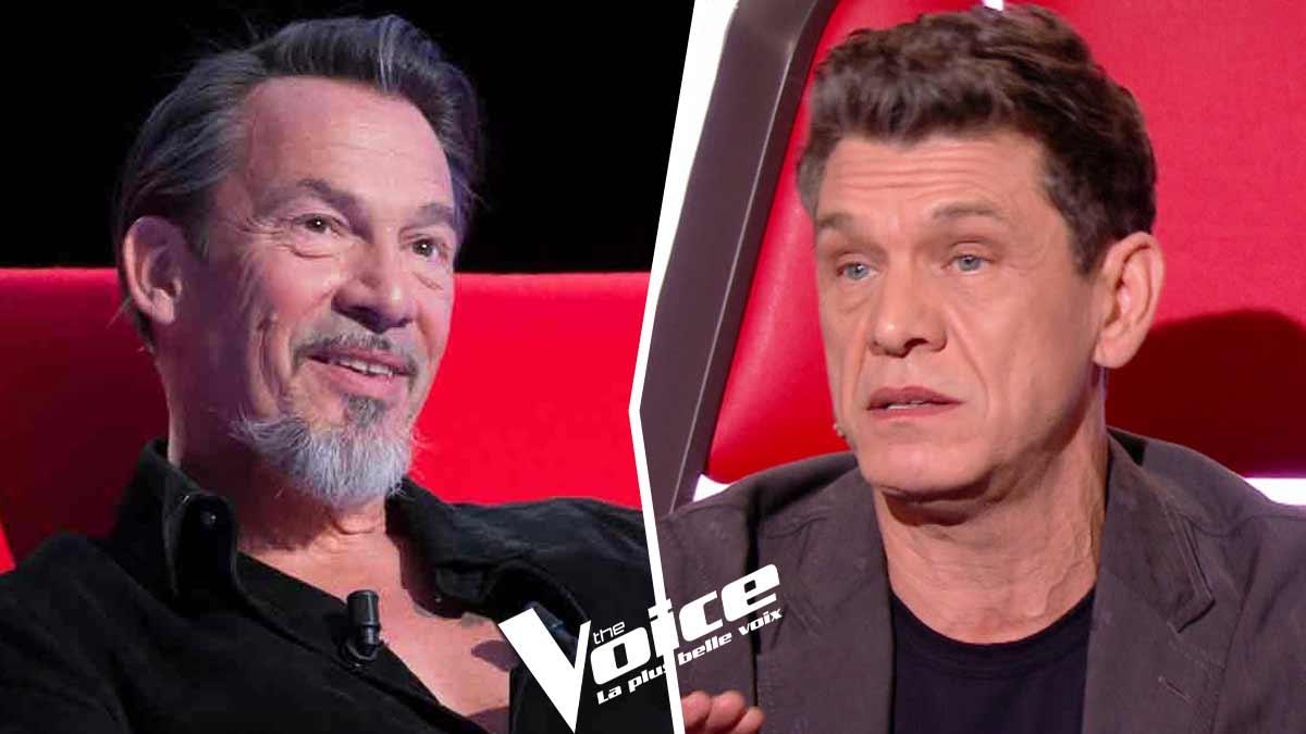 Marc Lavoine et Florent Pagny bondissent après les lourds propos d'une chroniqueuse de TPMP sur The Voice