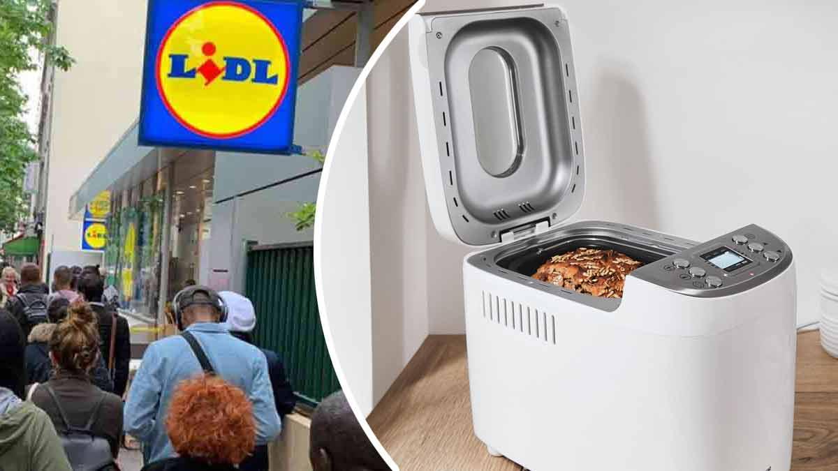 Ruée chez Lidl avec son incontournable machine à pain vendue ce 25 mars à un prix imbattable !
