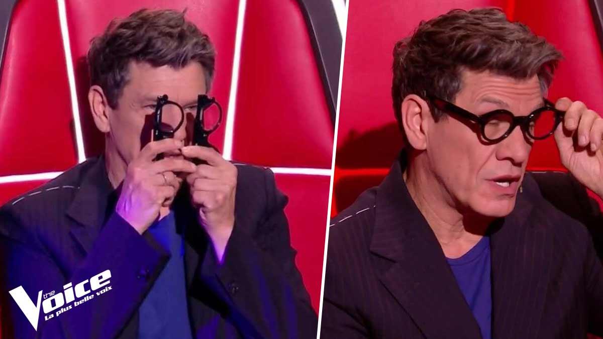 The Voice 10 : Marc Lavoine revient sur sa manie bizarroïde de tenir ses lunettes