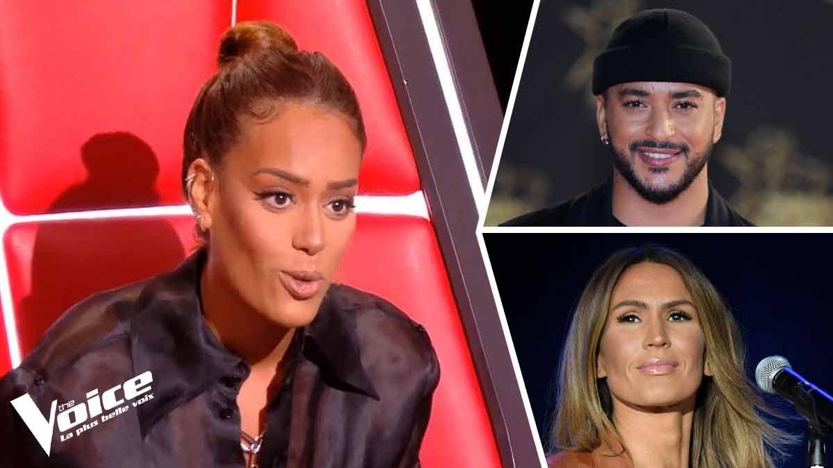 The Voice 10 : Slimane et Vitaa viennent épauler Amel Bent les internautes se déchaînent comme jamais sur le duo