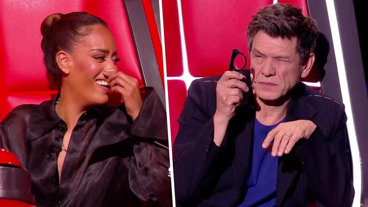 The Voice : Amel Bent n'en fait qu'à sa tête. Marc Lavoine scandalisé par son dernier geste !