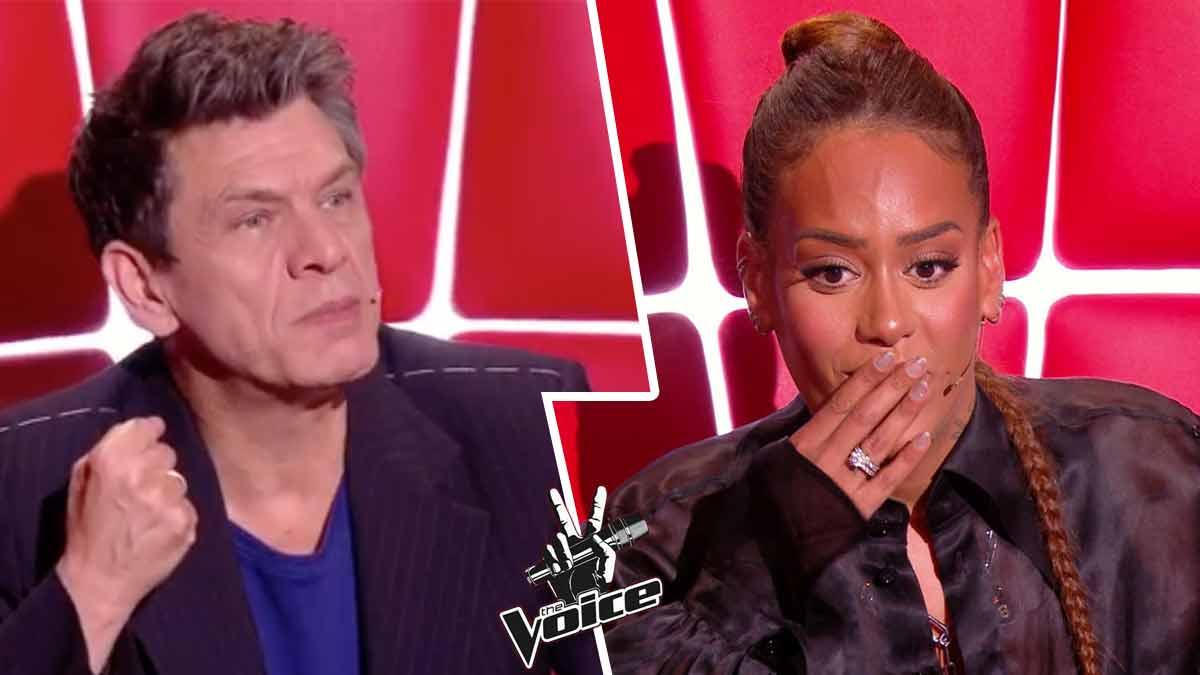 The Voice : ce coup bas très « moche » d'Amel Bent à son acolyte Marc Lavoine