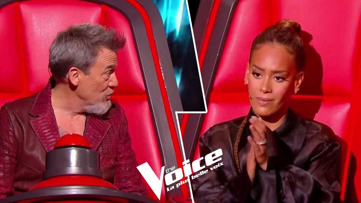The Voice : Florent Pagny a vu rouge Amel Bent le recadre vertement. La Toile réagit aussitôt !