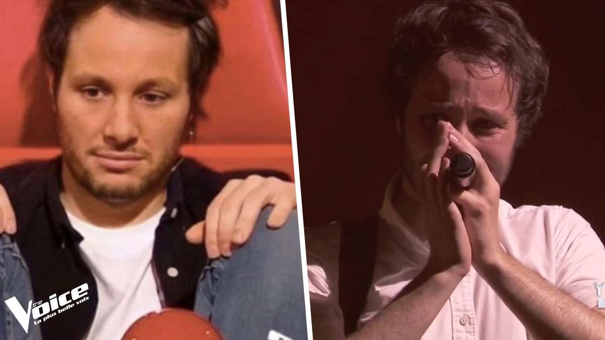 Vianney pris d'une vive émotion : le coach de The Voice ne pouvait plus retenir ses larmes…