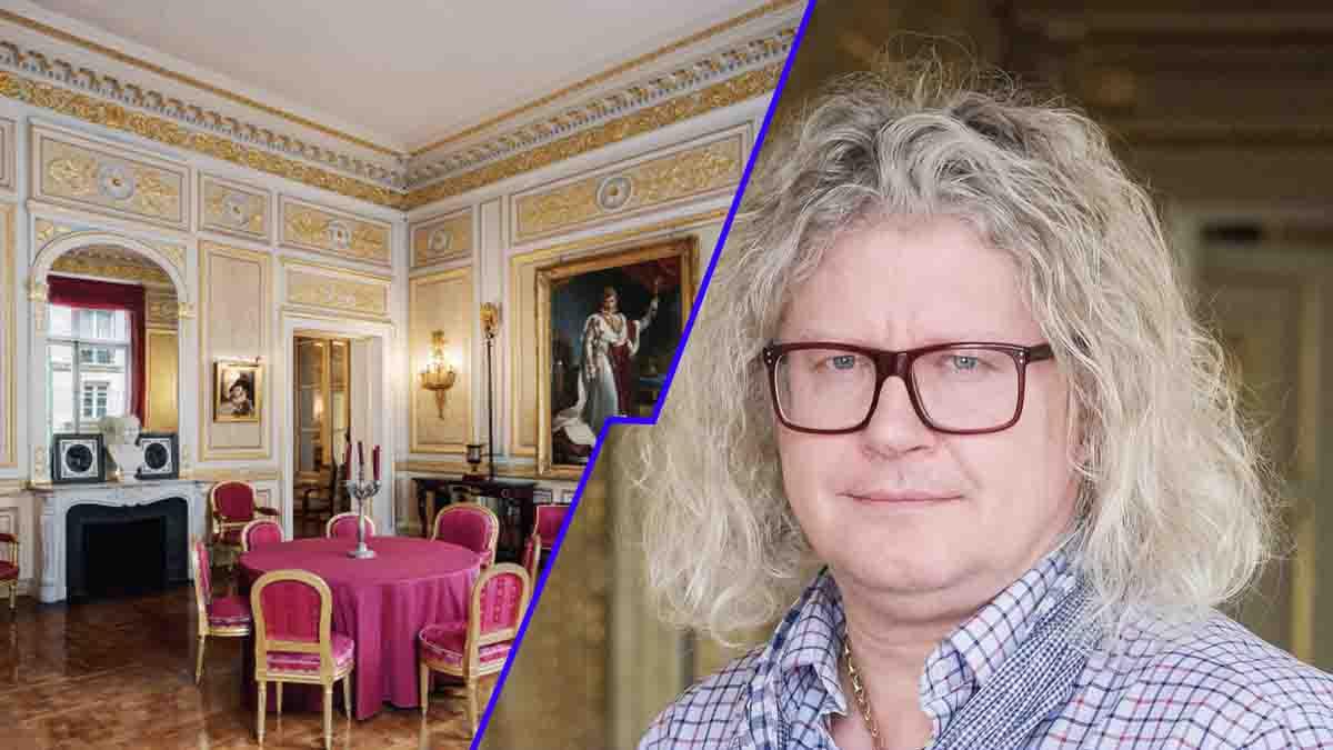 Accusé d'organiser au palais Vivienne des soirées clandestines Pierre-Jean Chalençon répond avec sa verve légendaire