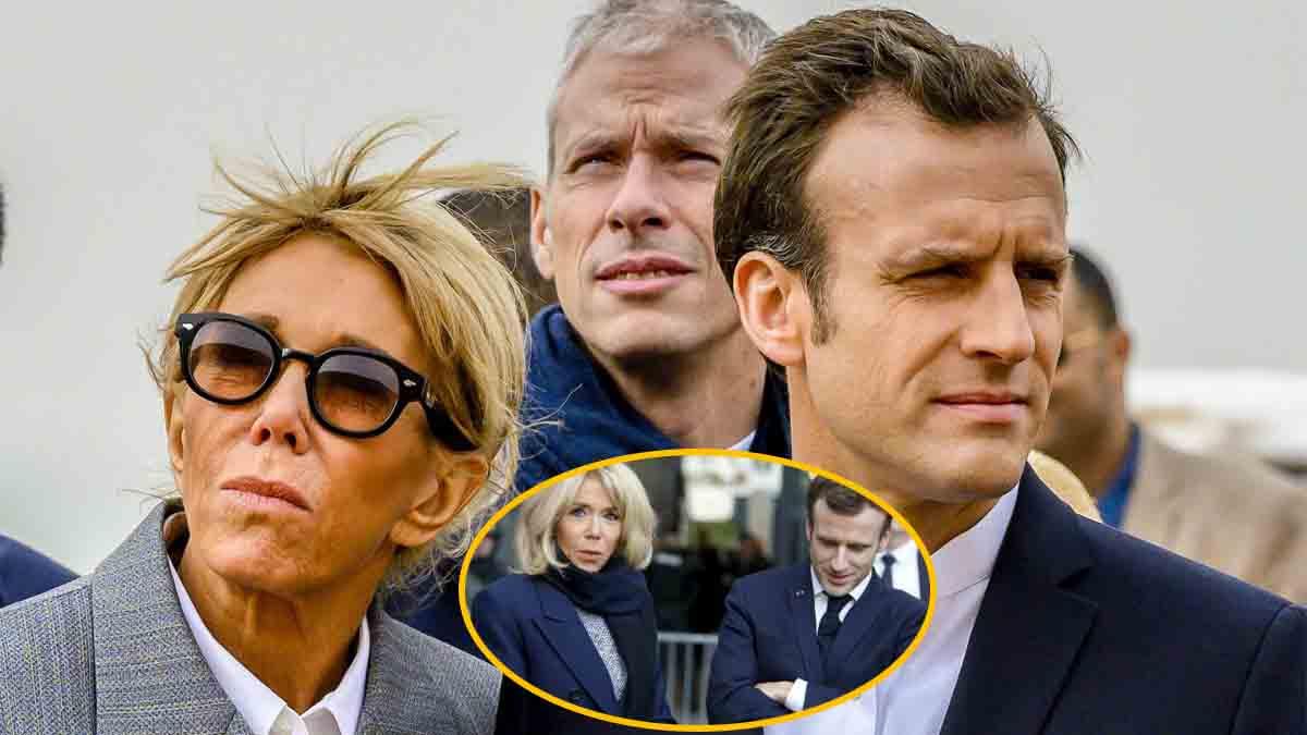 """Emmanuel Macron """"ulcéré"""" par cette scène de ménage avec son épouse Brigitte Macron"""