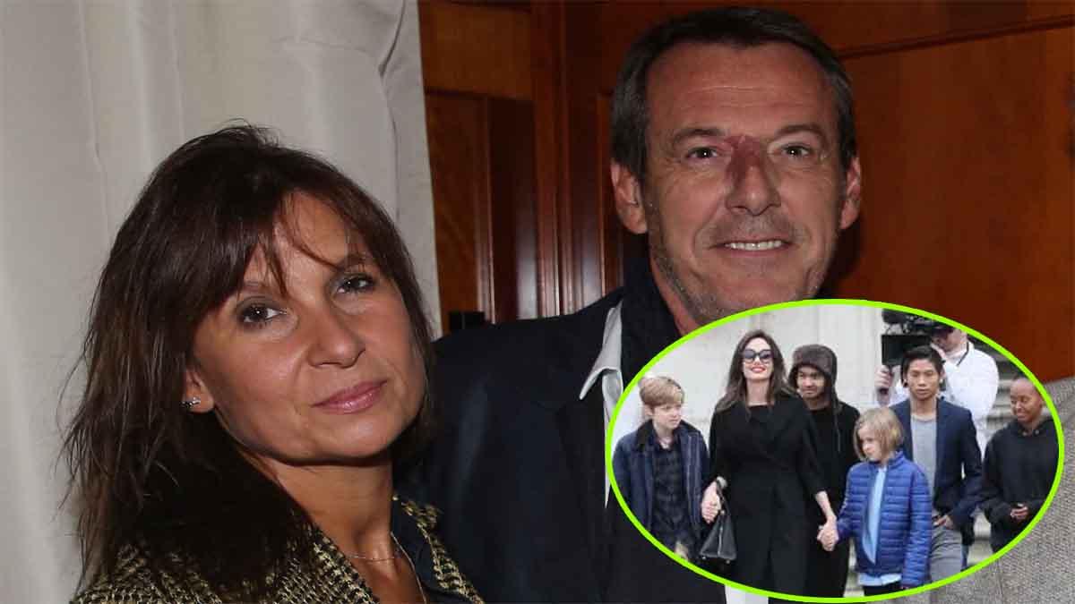 """Jean-Luc Reichmann et Nathalie Lecoultre : ce """"septième bébé"""" qui fait le bonheur du couple."""