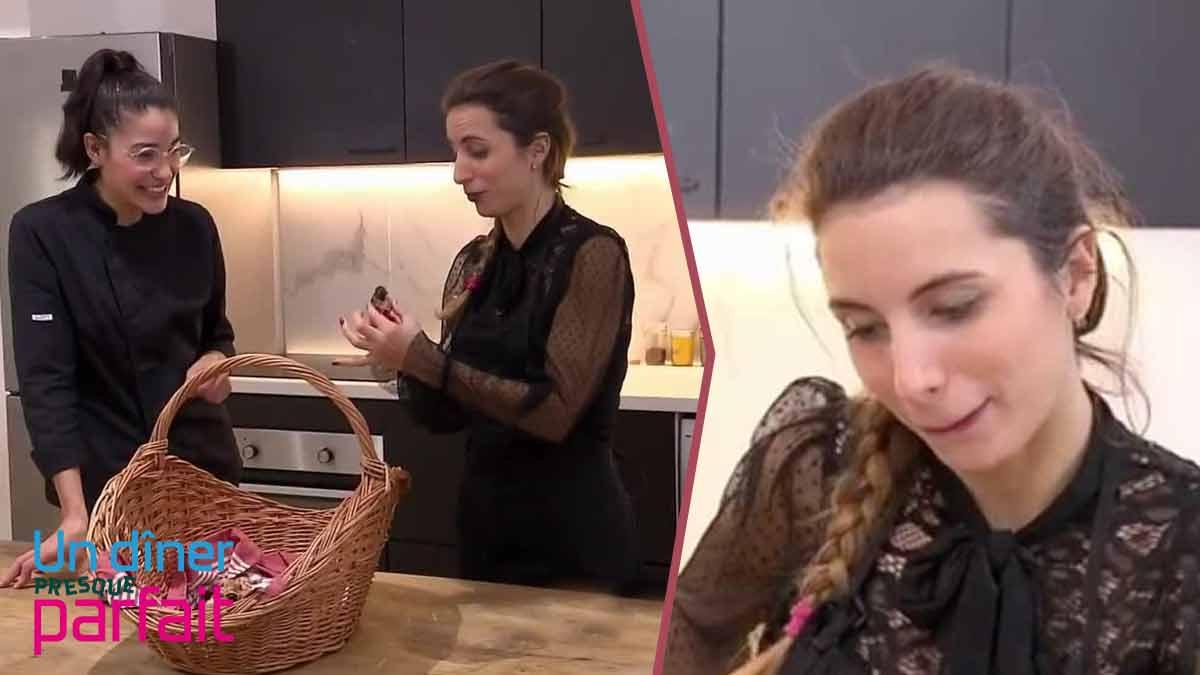 Justine Piluso dégoûte une candidate d'Un dîner presque parfait. Le choc !