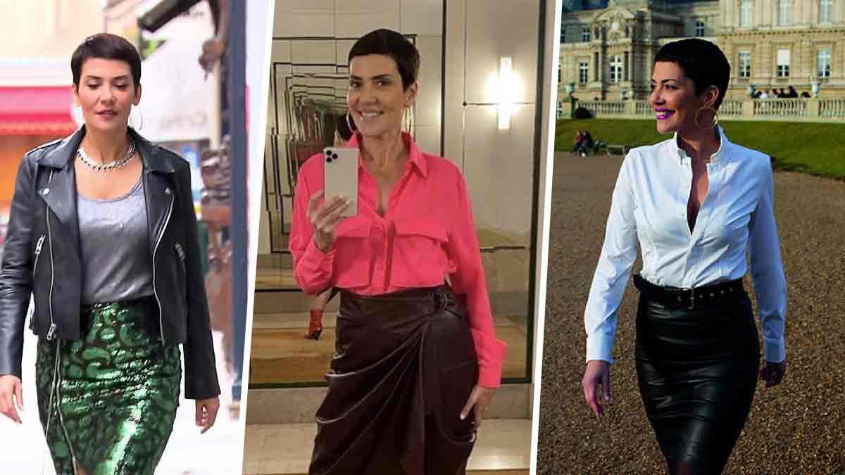 Les précieux conseils de Cristina Cordula pour être au top dans une jupe en cuir
