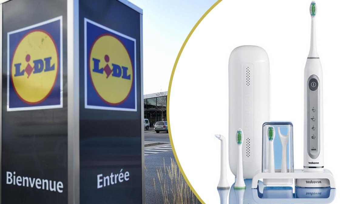 Lidl : sa nouvelle brosse à dents électriques baptisée Advanced va faire fureur ce jeudi. Vendu à moins de 20 euros seulement