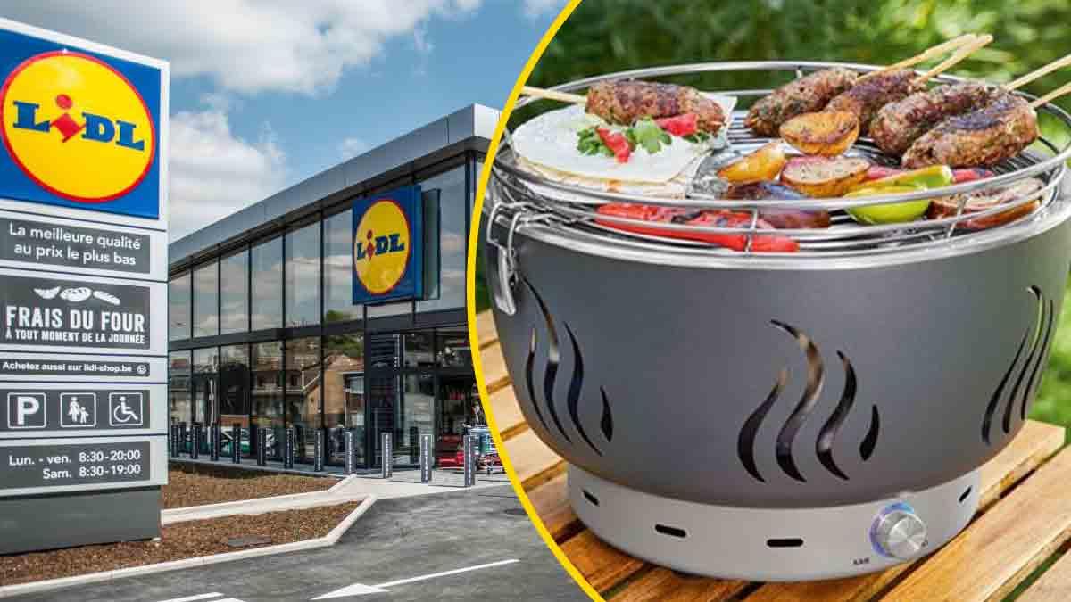 Lidl : son mini-barbecue à charbon fait un bond sans précédent