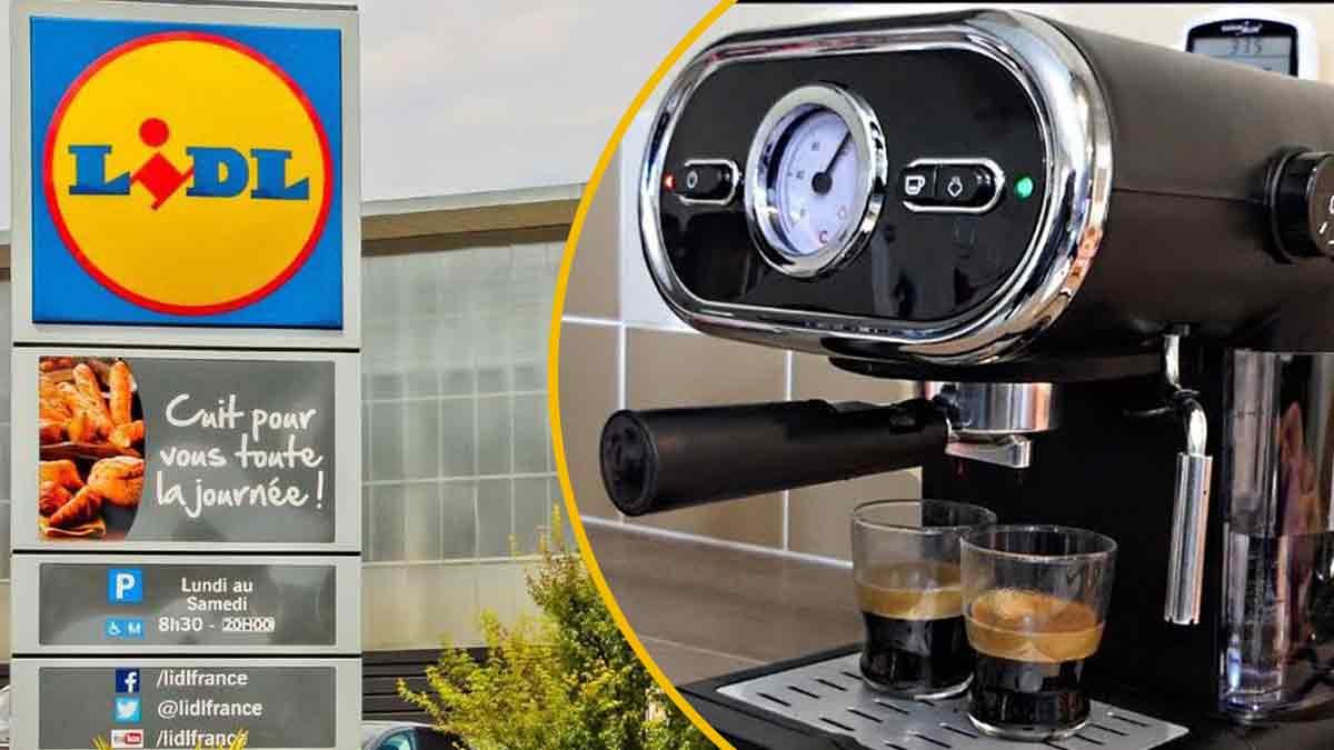 Lidl sort une machine à café révolutionnaire. Cohue garantie !