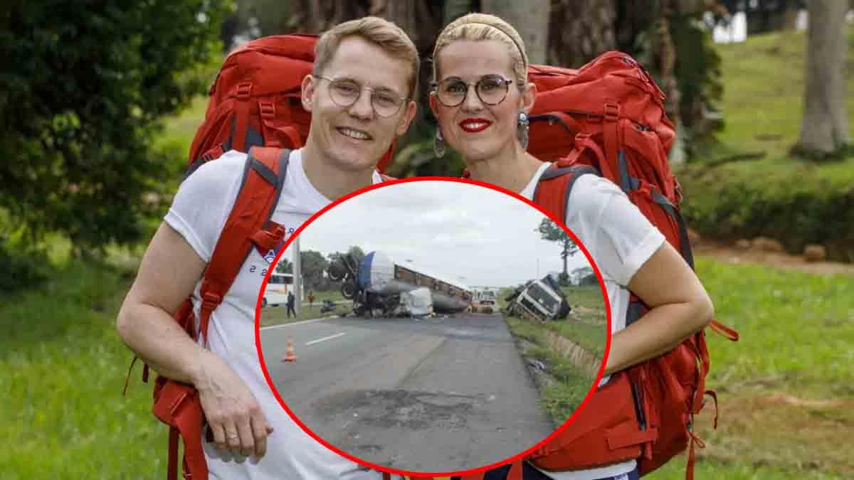Pékin express 14 : Aurore et Jonathan quittent l'aventure après un tragique accident mortel
