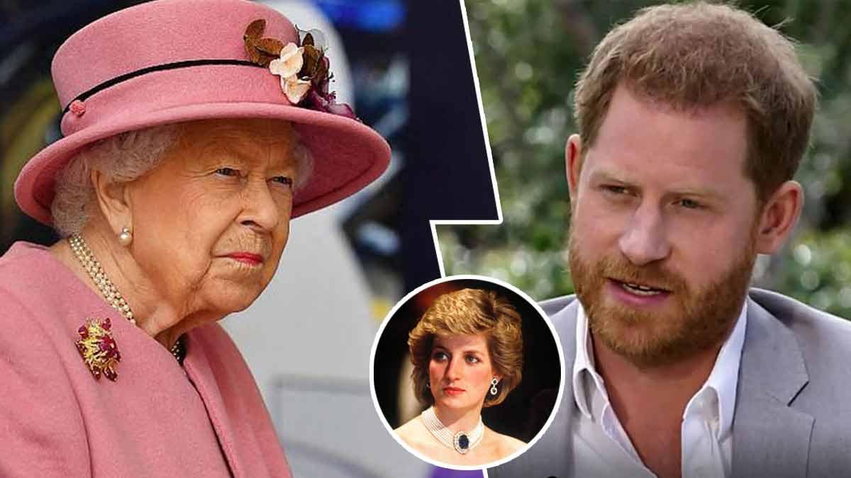 """""""Ce qu'ils ont fait à maman..."""" : Harry revient sur les tourments de Lady Diana. Un autre affront à la reine !"""