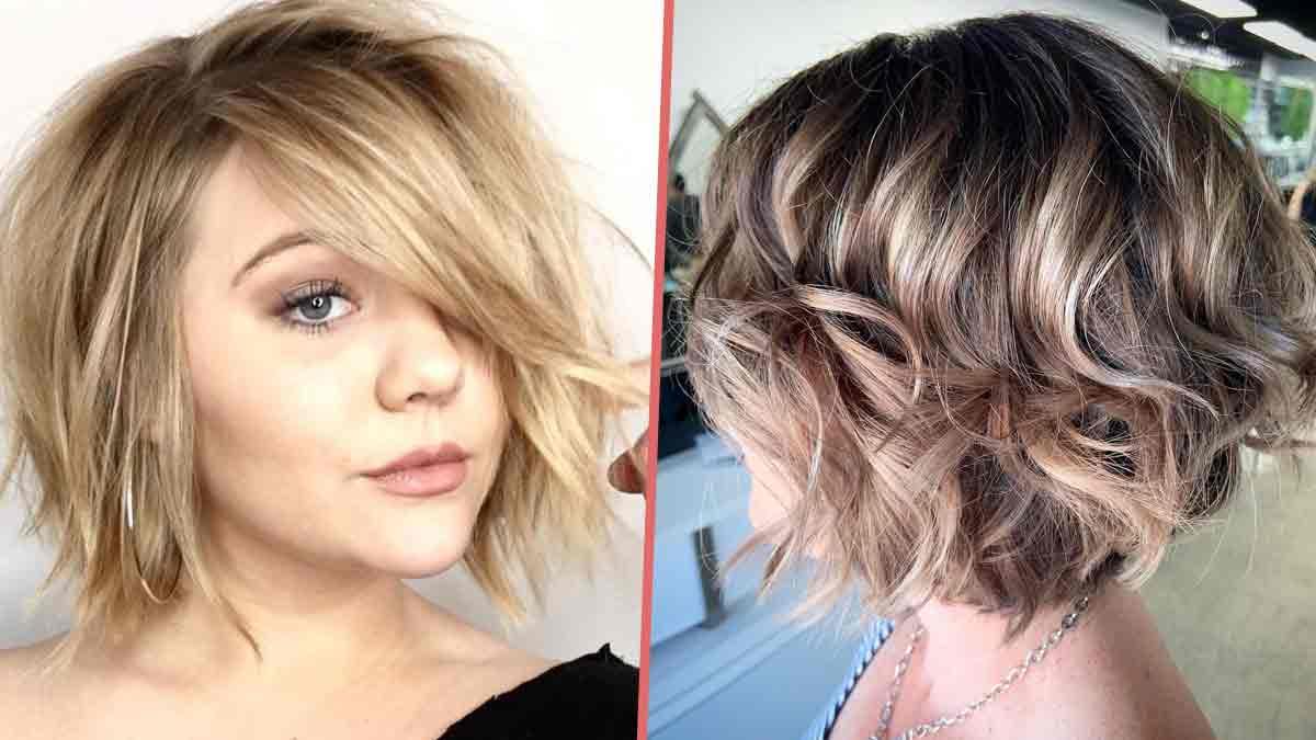 Découvrez cette coupe carré facile à coiffer...Même sans brushing !