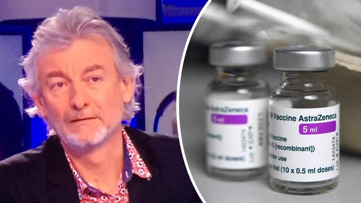 Gilles Verdez explique sa méfiance envers le vaccin AstraZeneca !
