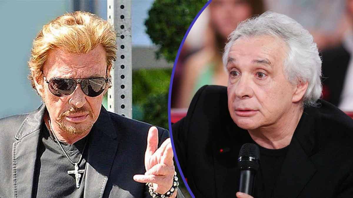 """Johnny Hallyday et Michel Sardou : ce jour où ils """"couchaient ensemble"""" !"""