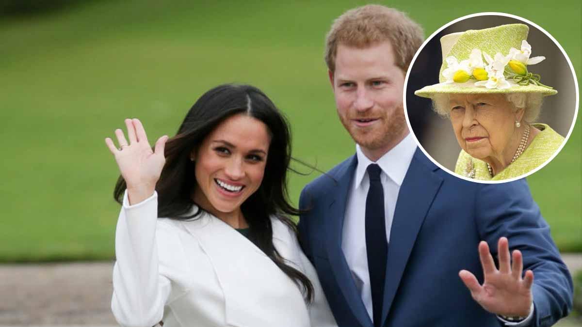 """Meghan Markle et Harry lâchent """"une bombe"""". Élisabeth II obligée d'encaisser les coups."""