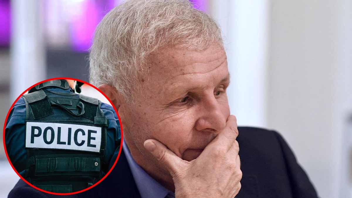 Patrick Poivre d'Arvor entendu par la police suite à son affaire de viol !