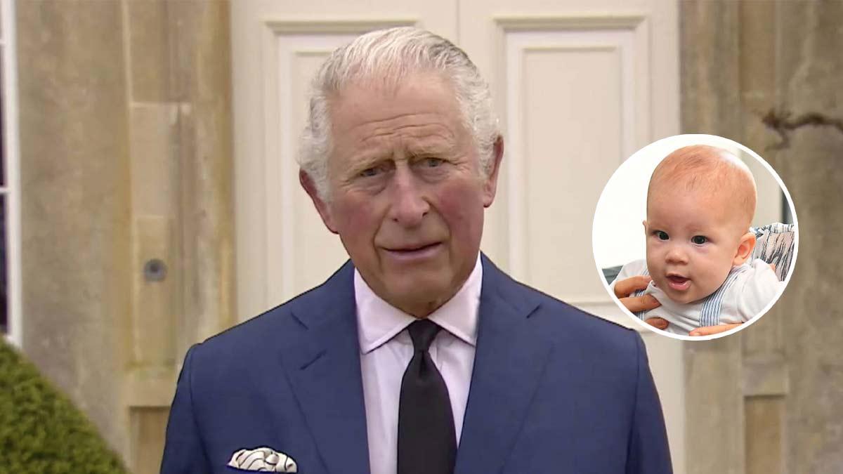 Prince Charles : Son histoire bouleversante avec le petit Archie !